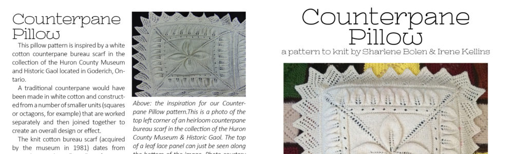 Counterpane Pillow Pattern
