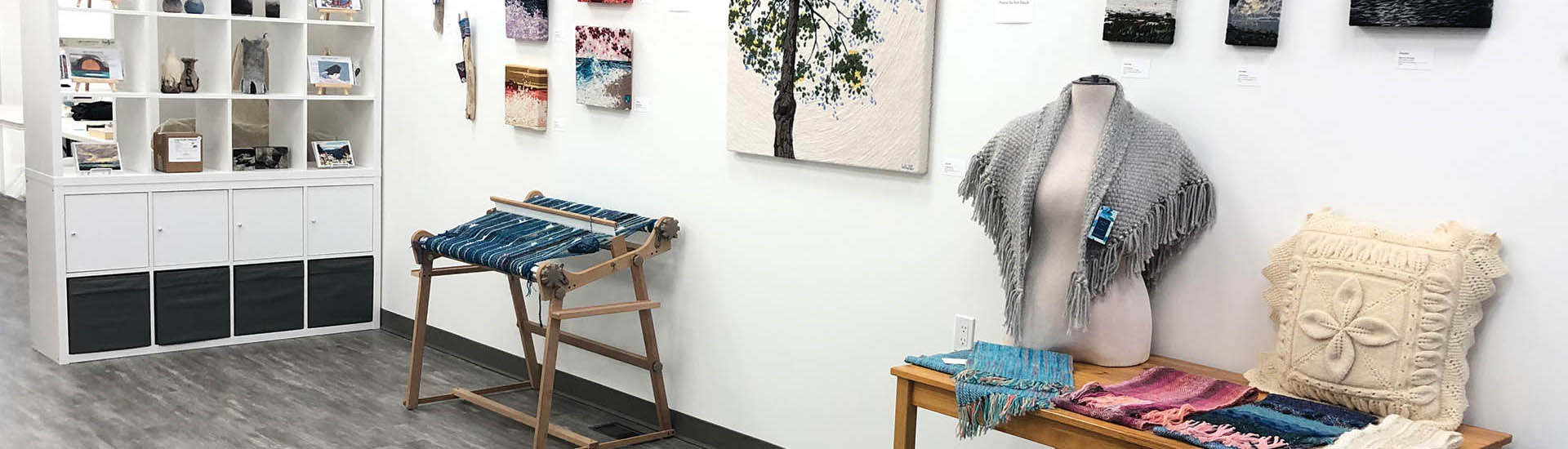 Textile art classes at FACTS, Blyth