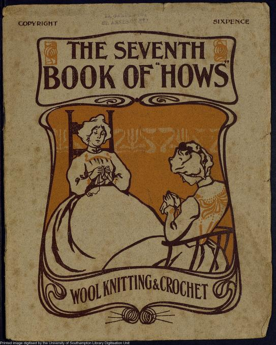 Online collection of Victorian knitting manuals