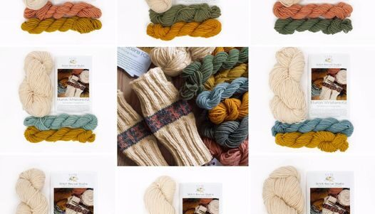 Huron Wristers Knitting Kit