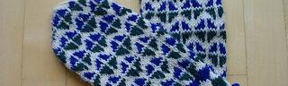 Estonian Mitten Pattern by Nancy Bush