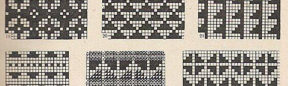 estonian colourwork patterns
